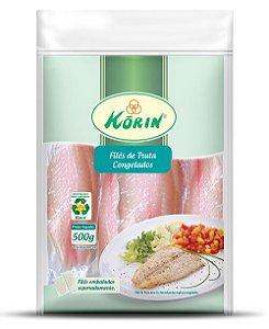 Filé de truta congelado orgânico 500g Korin