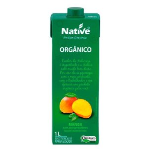 Suco tropical de manga orgânico 1L Native