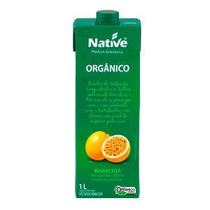 Néctar de Maracujá Orgânico 1L Native