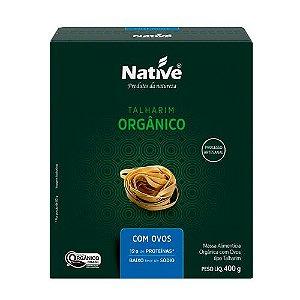 Talharim Orgânico com Ovos 400g Native