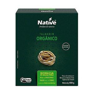Talharim Orgânico Biomassa 400g Native