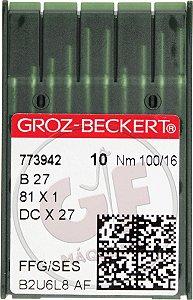 AGULHA DCX27 16 Marca: Groz Beckert / Modelo: DCx27 16