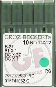 AGULHA DCX27 22 Marca: Groz Beckert / Modelo: DCX27 22