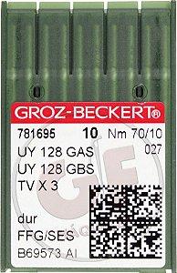 AGULHA UYX128 10 Marca: Groz Beckert / Modelo: UYx128 10
