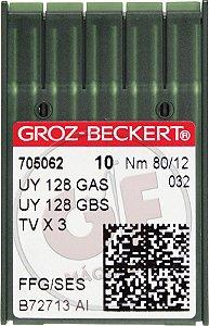 AGULHA UYX128 12 Marca: Groz Beckert / Modelo: UYx128 12