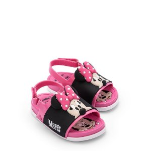 Mini Melissa Beach Slide Sandal + Mickey And Friends BB