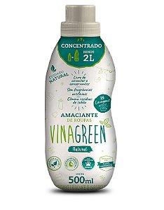 Vinagreen Amaciante de Roupas Concentrado Natural 500ml  - Caixa com 12 Unidades