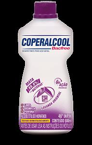 Coperalcool Bacfree 46 INPM Lavanda Oriental 500ml - Caixa com 12 Unidades