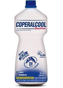 Coperalcool Bacfree 46 INPM Tradicional 1L - Caixa com 12 Unidades