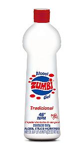 Álcool Gel Zumbi 46 INPM Tradicional 500g