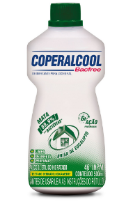 Coperalcool Bacfree 46°INPM Eucalipto 500ml