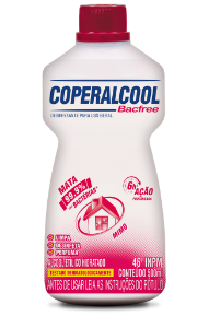 Coperalcool Bacfree 46 INPM Mimo 500ml