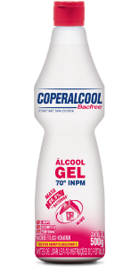 Gel Coperalcool Bacfree 70 INPM Mimo 500g