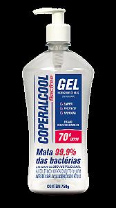 Gel Higienizador de Mãos Coperalcool Bacfree 750g