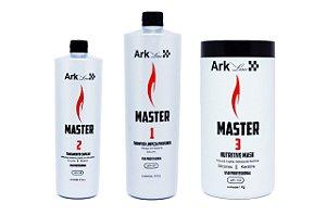 Progressiva Master 500ml Kit Shampoo, Ativo E Máscara.