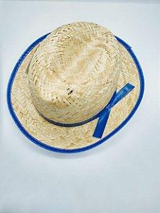 Chapéu de Palha Infantil Italianinho Cor Sortida Diâmetro 17cm x 14cm R.c061 Unidade