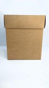 Caixa Acoplada Kraft Para Presente Tamanho G 18cm Altura x 15cm Largura R.4186 Unidade