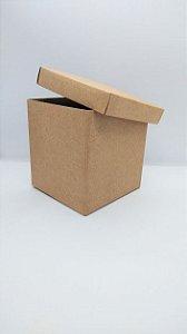 Caixa Acoplada Kraft para Presente Tamanho Pp R.4121 12cm Altura x 11cm Largura Unidade