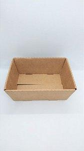 Cesta Em Papel Kraft para Presente R.4136 Tamanho P 18cm Largura x 7cm Altura Unidade