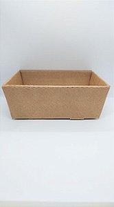 Cesta Em Papel Kraft para Presente R.4138 Tamanho G 25,5cm Largura x 10cm Altura Unidade