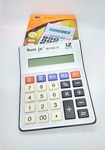 Calculadora De Mesa De Plástico De 12 Dígitos R.MJ89212 13cm x 17cm Unidade