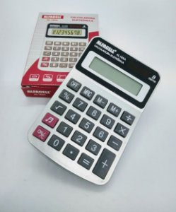 Calculadora Eletrônica Imporiente - Alfacell 8 Dígitos R.AL185A 7,5cm x 11,5cm Unidade