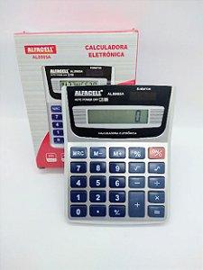 Calculadora Eletrônica Imporiente - Alfacell 8 Dígitos R.AL8985A 9,5cm x 12,5cm Unidade