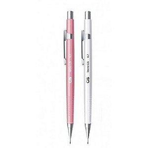 Lapiseira Cis Tecnocis C-207 0,7mm ( rosa ou branca) Unidade
