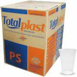 Copo Totalplast Transparente 200ml Caixa Com 2500 Unidades