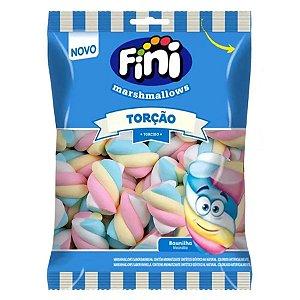 Marshmallows Fini Torcao Twist Colorido Sabor Baunilha Pacote Com 250g
