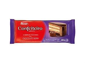 Cobertura Chocolate Barra Harald Confeiteiro Blend Ao Leite 1,050kg R.102091 Unidade