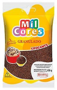 Granulado Crocante Mavalério Chocolate Mil Cores 150 Gramas R.04673 Unidade