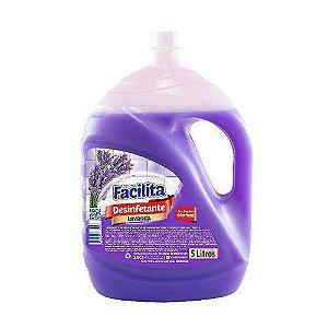 Desinfetante Audax Facilita Lavanda 5 Litros Unidade