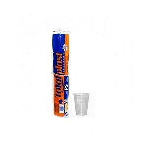 Copo Plástico Descartável Totalplast Transparente 200ml Pacote Com 100