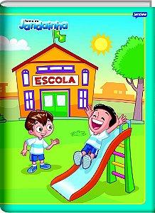 Caderno Brochura Universitário Capa Dura Jandainha Masculino 20cm x 27cm Com 96 Folhas R.62833 Unidade