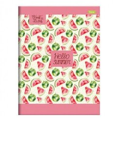 Caderno 1/4 Broch Foroni Fruit Lovers 96 Folhas R.456275 Unidade