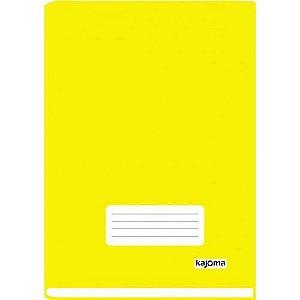 Caderno Univ Capa Dura Broch Kajoma Amarelo C/96 Folhas R.313 Unidade