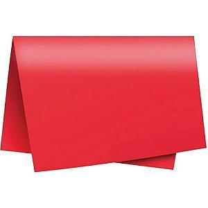 Cartolina Dupla Face Vermelho Unidade