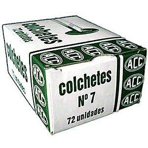 Colchetes Acc N.7 Cx C/72