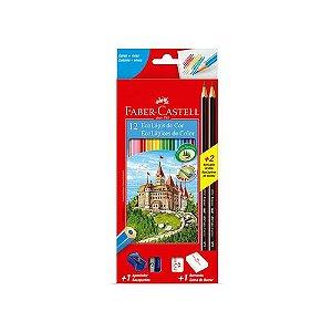 Ecolapis Cor Faber Castell Kit Esc Com 12 R.120112+2N