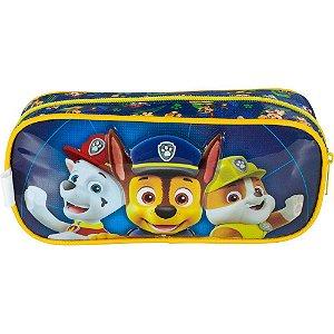 Estojo 1 Compartimento Foroni Patrulha Canina Azul R.425959 Unidade