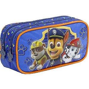 Estojo 2 Compartimentos Foroni Patrulha Canina Azul R.425961 Unidade