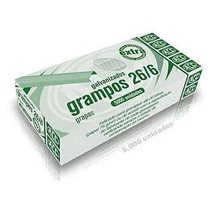 Grampo P/Gramp 26/6 Acc Galvanizado Com 5000