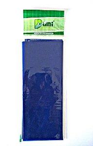 Papel Celofane 80cm X 100cm Azul Claro Unidade