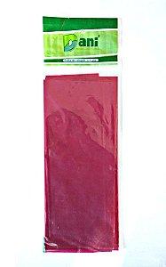 Papel Celofane 80cm X 100cm Rosa Unidade