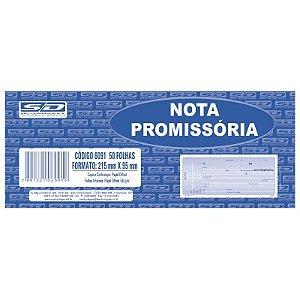 Talão Nota Promissoria Sao Domingos Com 50Fl Un