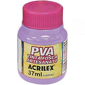 Tinta Plástica Acrilex Pva 37Ml Lilas 032400528