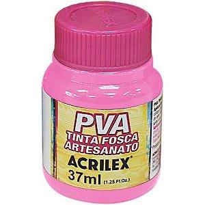 Tinta Plástica Acrilex Pva 37Ml Rosa Bebe 032400813