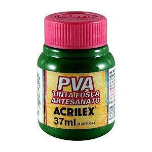 Tinta Plástica Acrilex Pva 37Ml Verde Musgo 032400513