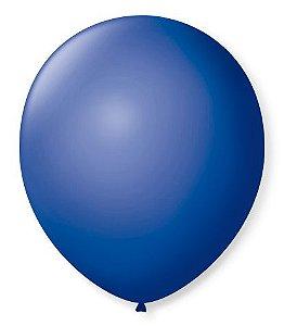 Bola Sao Roque Redondo Azul Cobalto N8 Com 50